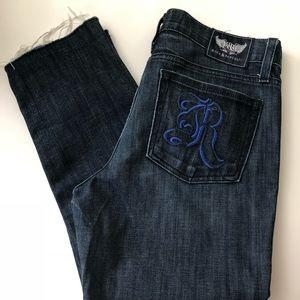 EUC Rock & Republic ankle crop skinny jeans